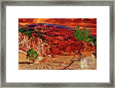 Sunset Point Bryce Canyon Framed Print by Blake Richards