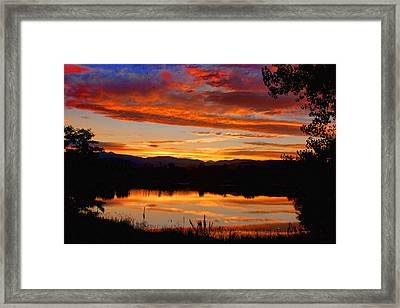 Sunset Reflections Framed Print by James BO  Insogna