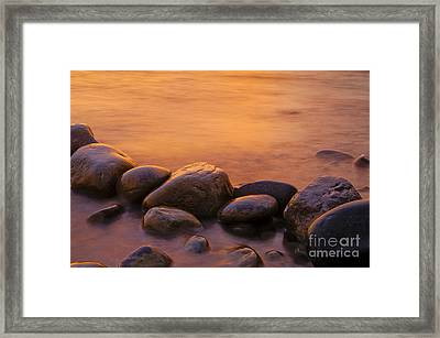 Sunset Framed Print by Silke Magino
