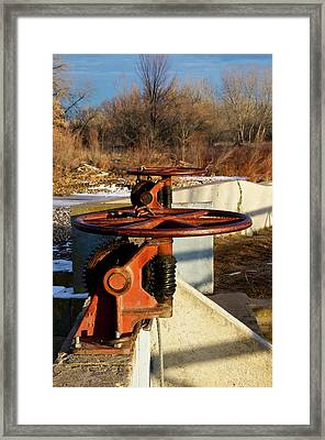 Sunset Water Works Framed Print by Christopher Wood