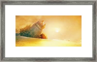 Sunworm Framed Print by Jamie Fox