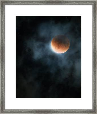 Super Blood Moon 2015 Framed Print by Bill Wakeley