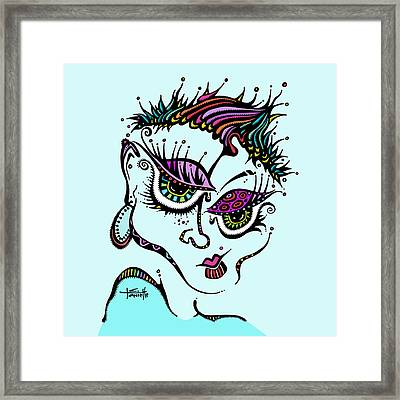 Superfly Framed Print by Tanielle Childers
