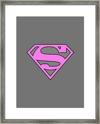 Supergirl Collection Framed Print by Marvin Blaine