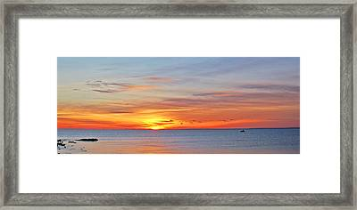 Superior Sunrise Framed Print by Bill Morgenstern