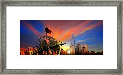Superman-daily Planet Framed Print by Fadylr