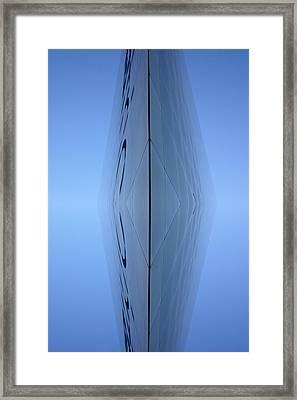Supernet Framed Print by Toppart Sweden