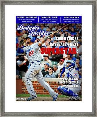 Superstar Kemp Framed Print by JHuerta