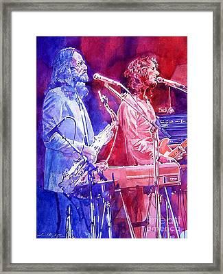 Supertramp Framed Print by David Lloyd Glover