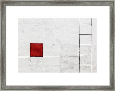 Suprematism Is All Around Framed Print by Ksenia Voeykova