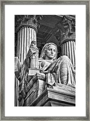 Supreme Court Building 14 Framed Print by Val Black Russian Tourchin