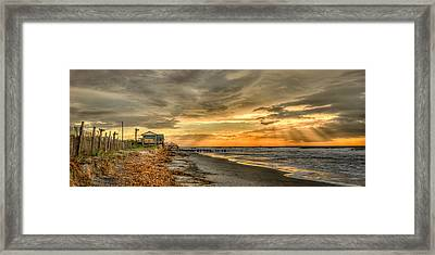 Surf Patrol Framed Print by Steve DuPree