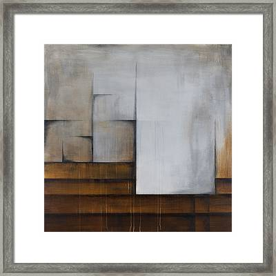 Surface Patterns Framed Print by Mike Irwin