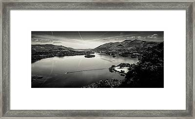 Surprise View Framed Print by Dave Bowman