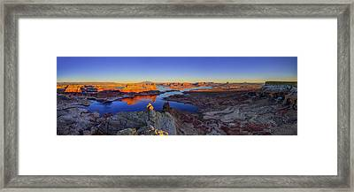Surreal Alstrom Framed Print by Chad Dutson
