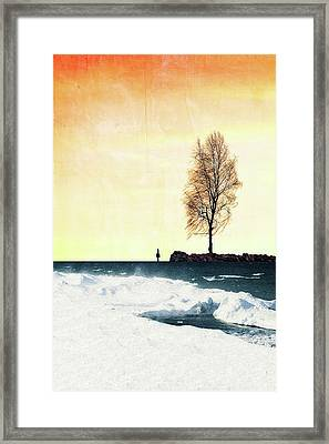Surreal Day Framed Print by Celestial  Blue