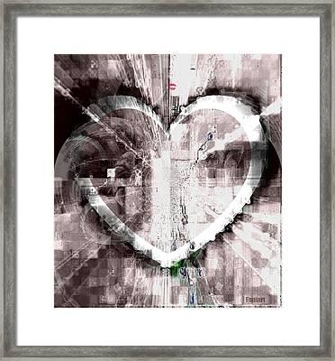 Surrender Framed Print by Fania Simon