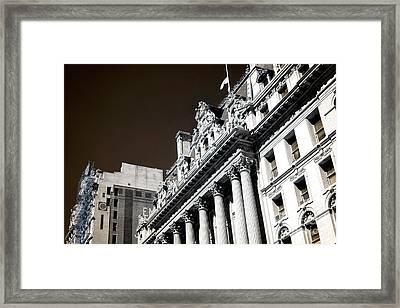 Surrogate's Court Infrared Framed Print by John Rizzuto