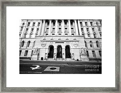 Surrogate's Court Framed Print by John Rizzuto