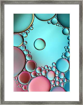 Surrounded Or Protected ? Framed Print by Heidi Westum