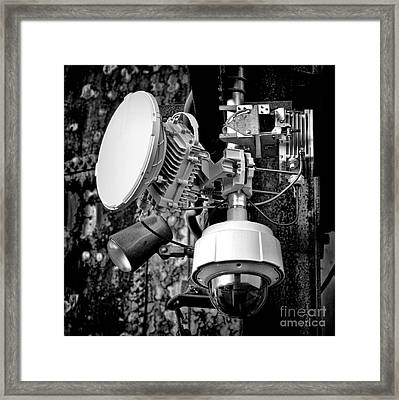 Surveillance Framed Print by Olivier Le Queinec