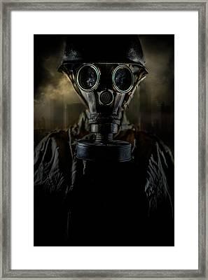 Survivor Framed Print by Jaroslaw Blaminsky