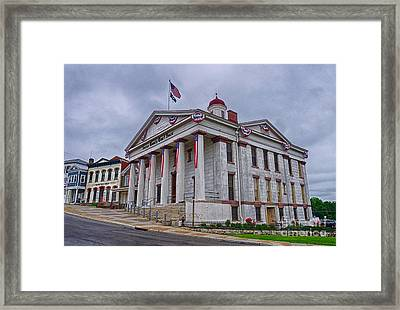 Sussex County Courthouse Framed Print by Mark Miller