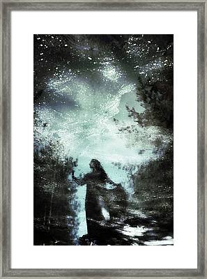 Swamp Witch Framed Print by Cambion Art