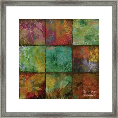 Swatchbox I Framed Print by Mindy Sommers