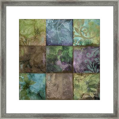 Swatchbox Iv Framed Print by Mindy Sommers