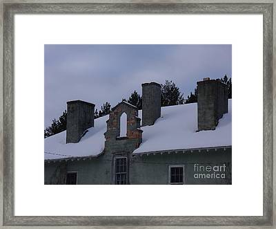 Sweeps Gate Framed Print by The Stone Age