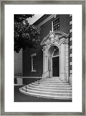 Sweet Briar College Cochran Library Entray Framed Print by University Icons