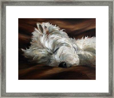 Sweet Dreams Framed Print by Mary Sparrow