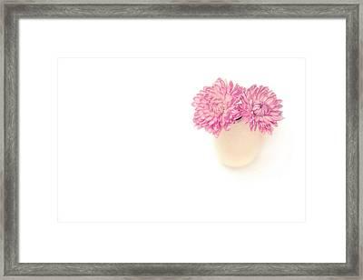 Sweet Harmony Framed Print by Evelina Kremsdorf