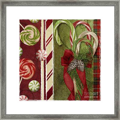 Sweet Holiday I Framed Print by Mindy Sommers