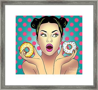 Sweet Pop  Framed Print by Mark Ashkenazi