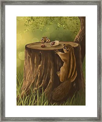 Sweet Snack Framed Print by Veronica Minozzi