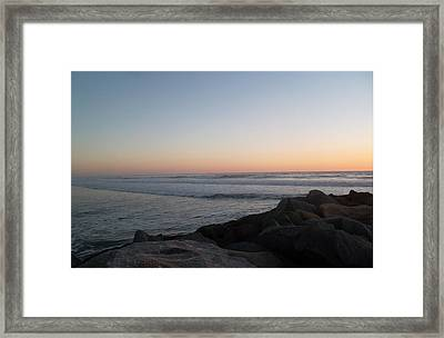 Sweet Surrender Framed Print by Patricia Lyons