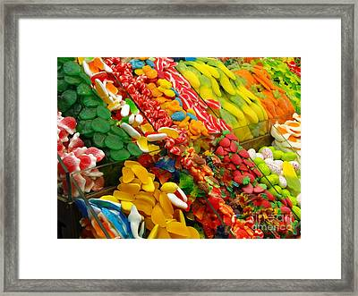 Sweet Tooth Framed Print by Sue Melvin