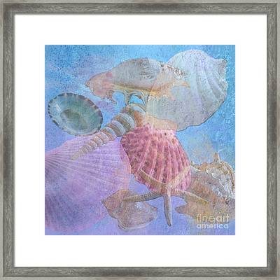 Swept Out With The Tide Framed Print by Betty LaRue