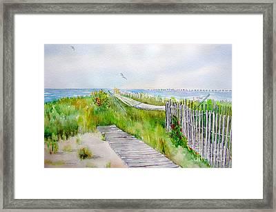 Swing Breeze Framed Print by Amy Kirkpatrick
