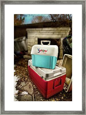 Swinger Cooler Framed Print by Yo Pedro