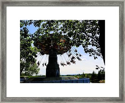 Swingin Framed Print by Al Bourassa