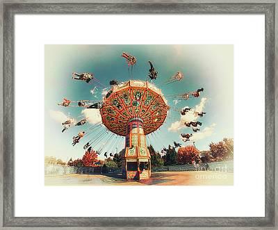 Swingin' Framed Print by Mark Miller