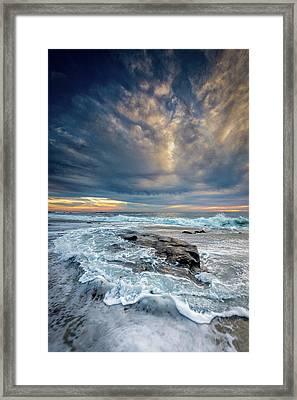 Swirl Framed Print by Peter Tellone