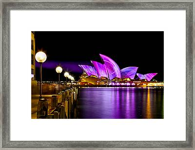 Swirling Sails Framed Print by Az Jackson