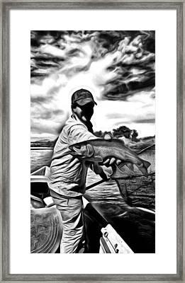 Swirly Hero Shot Framed Print by Timothy Smith