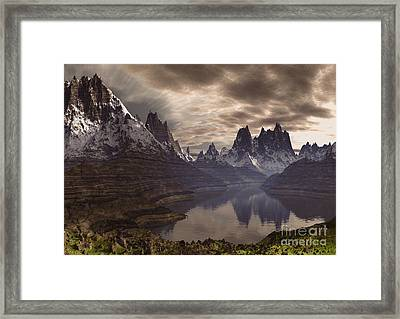 Swiss Alps  Framed Print by Heinz G Mielke