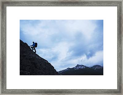 Swiss Biologist And Photographer Framed Print by Paul Souders