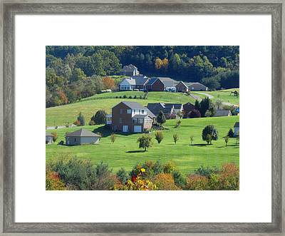 Swiss In Us Framed Print by Vijay Sharon Govender